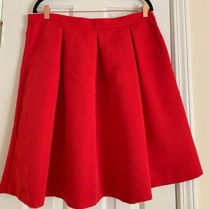 Brand new NY&C Red Skirt. 16 Petite